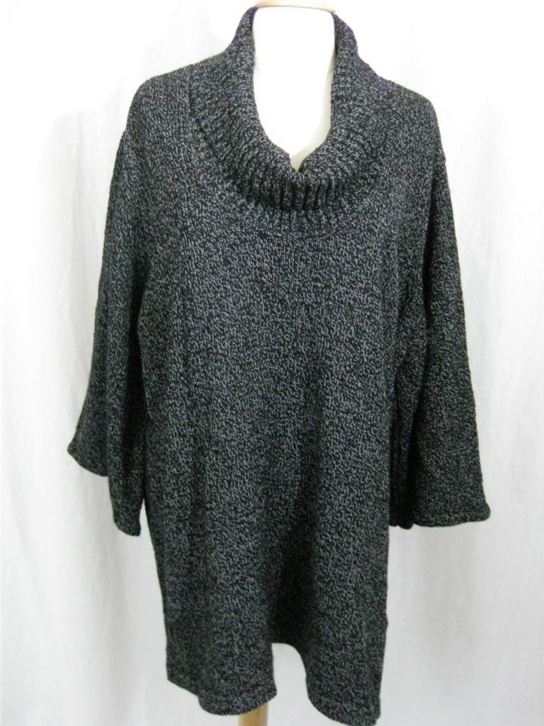 Karen Scott Woman Plus Size Cowl Neck Sweater Tunic Various