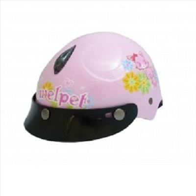 Jewelpet Kids Motor Bike Helmet Pink Red Sanrio