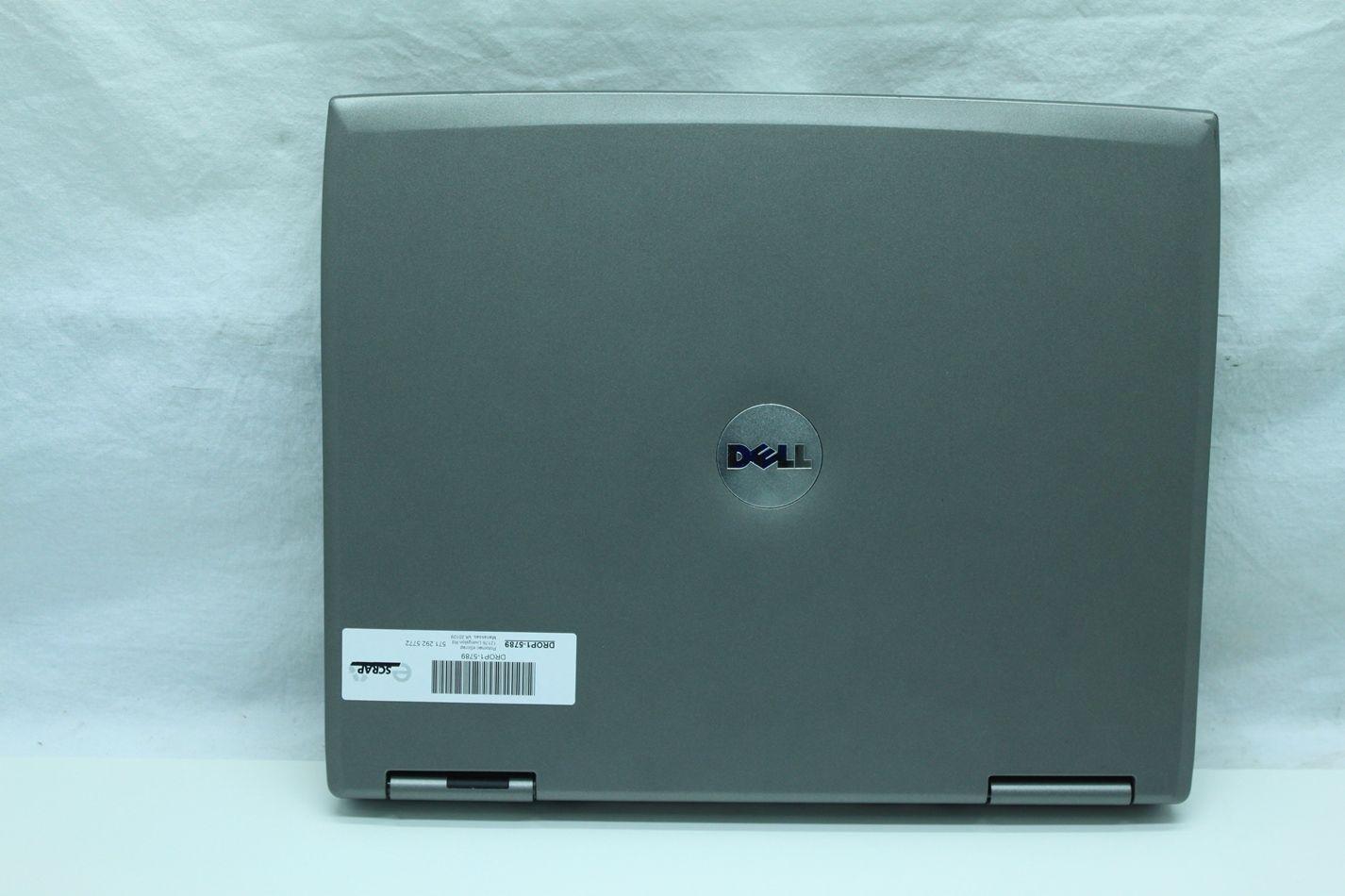 Dell Latitude D505 Laptop Pentium M 1 5GHz 30GB 512MB XP 3 DVD CDRW