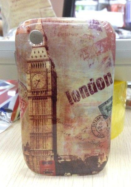 United Kingdom Landon Famous Set Back Cover Case for Blackberry BB