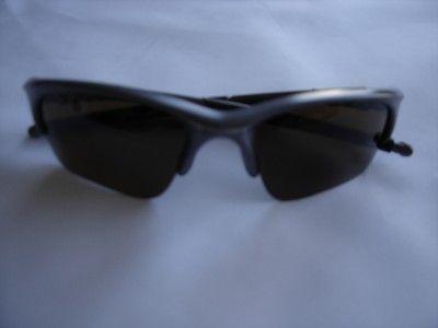 New Oakley Half Jacket Sunglasses Grey Frame Bronze Lenses EX Display