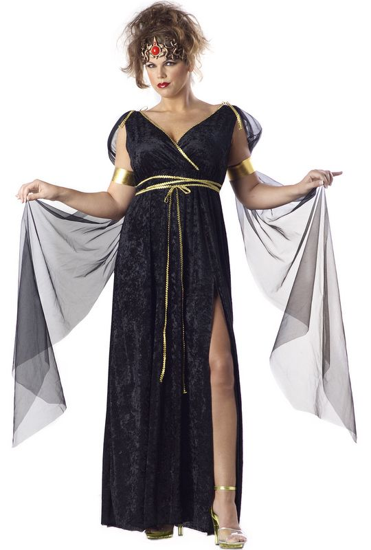 Sexy Medusa Plus Size Halloween Costume 01622