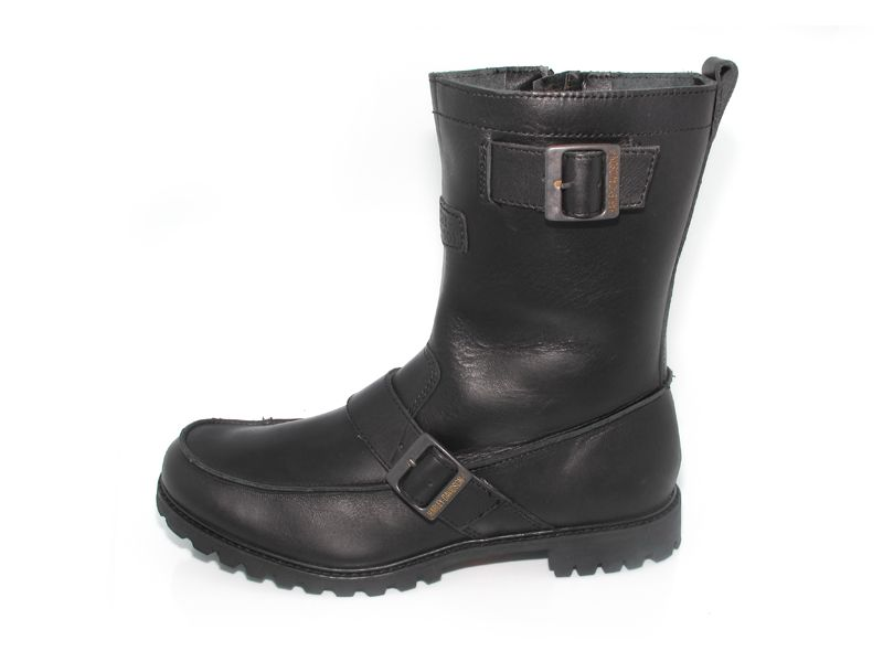 Davidson Sentinnel Black Leather Mens Motorcycle Boots Size 11