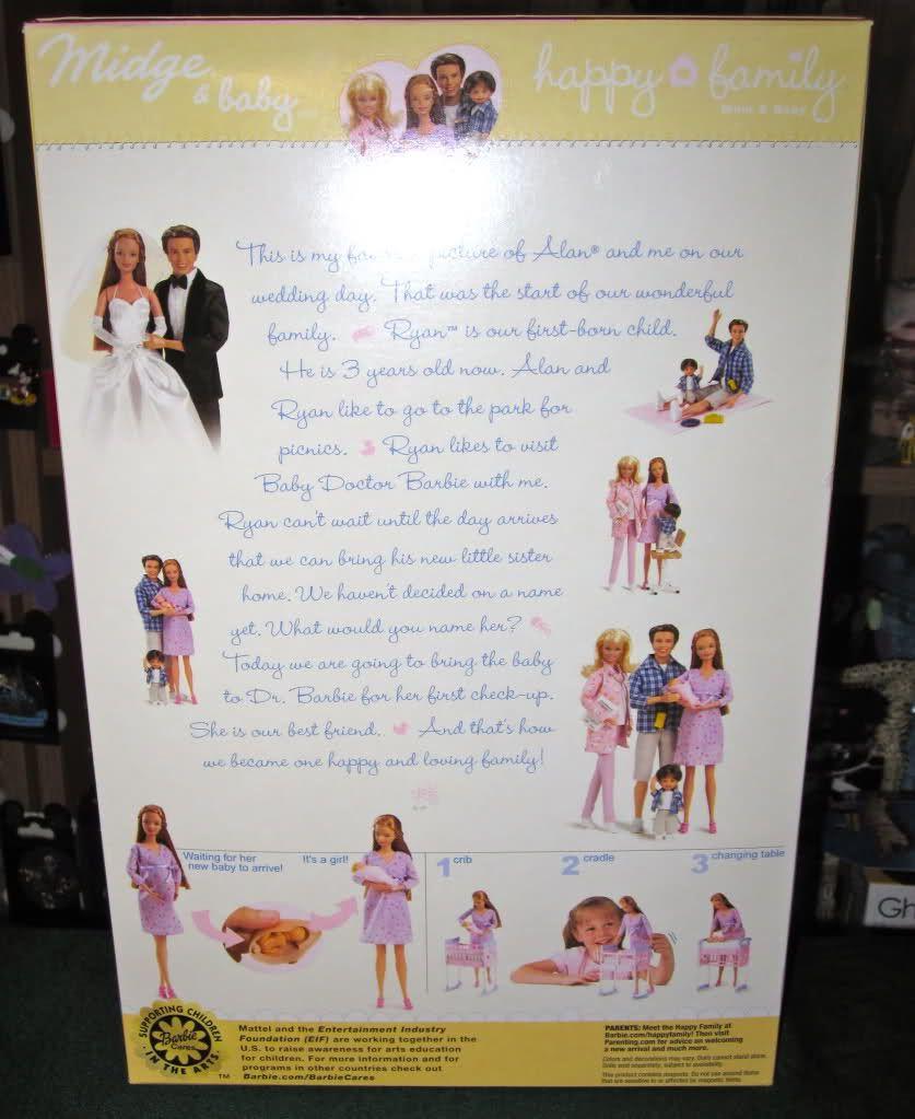 Barbie Happy Family Midge New 1st Edition 2002 Pregnant