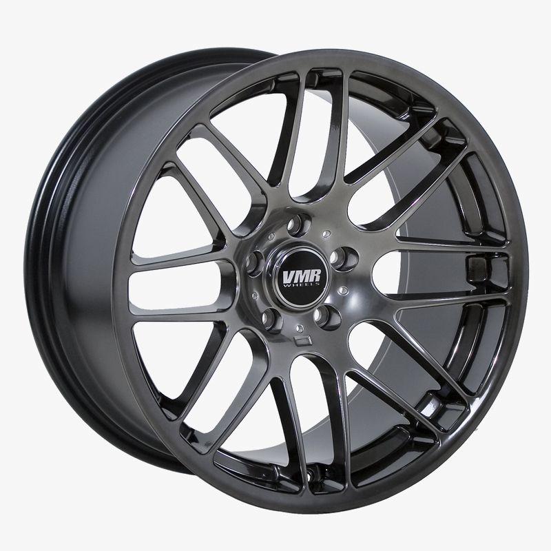 VMR VB3 Hyper Black Wheels Rims Fit BMW E46 1995 2005 3 Series
