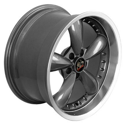 18 9 10 Gunmetal Bullitt Wheels Rims Fit Mustang® 94 04