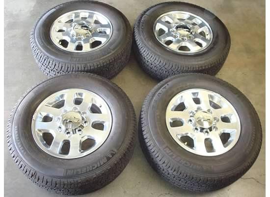 18 Chevy Silverado 2500HD Wheels Rims Tires 11 12 2500 3500 HD GMC