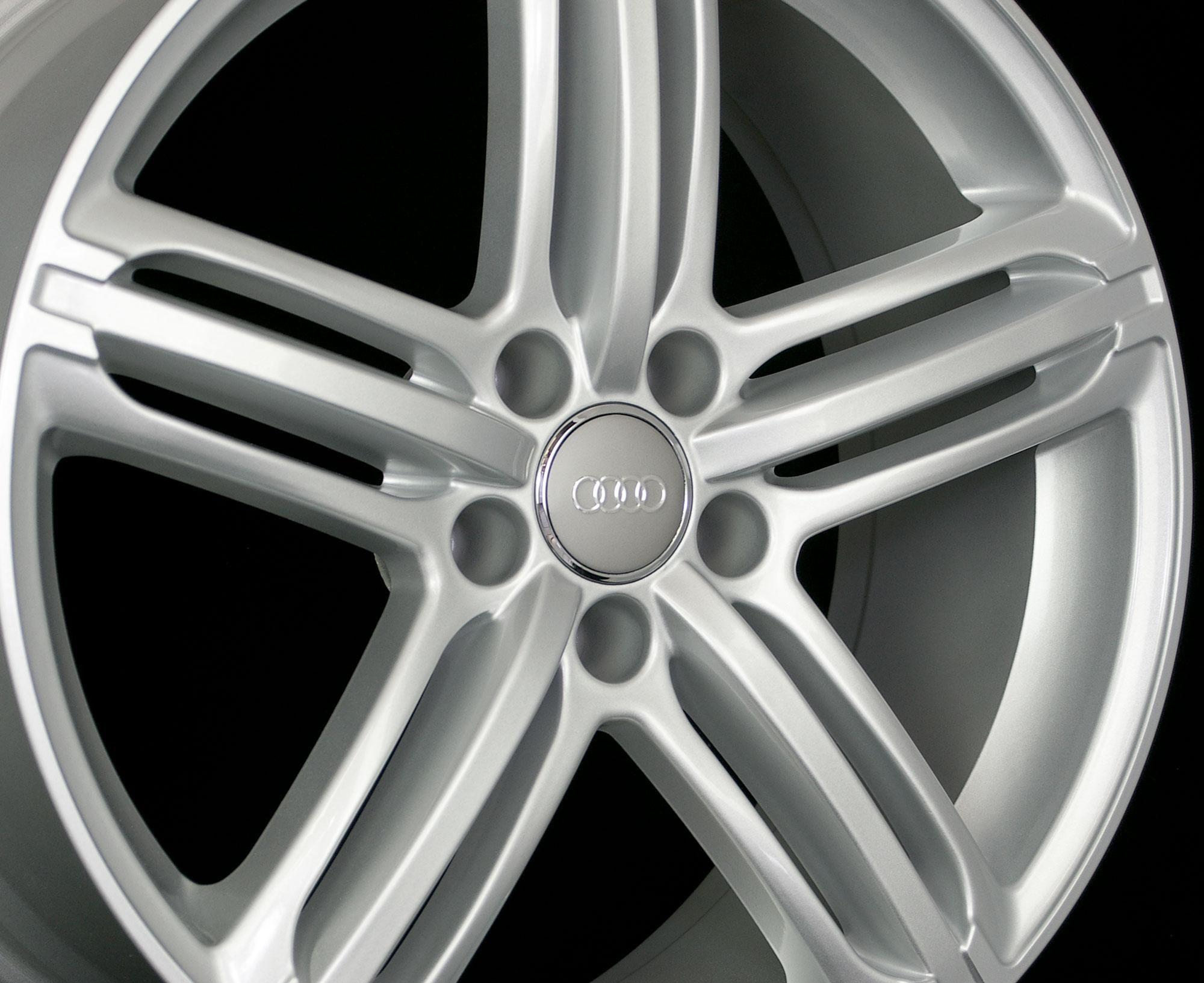 19 s Line Matte Black Wheels Rims Fit Audi S4 S5 A4 A5 A6 A7 A8 Brand