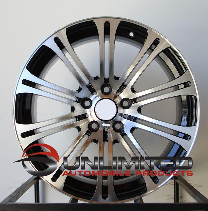 19 BMW M3 Staggered Wheels Rims Fit E46 E90 E92 E93