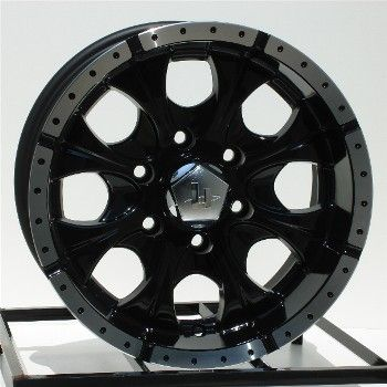 16 inch Black Wheels Rims Chevy GMC 6 Lug 1500 Truck GM