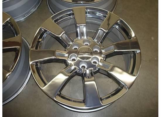 TAHOE Silverado SUBURBAN GMC LTZ 07 12 CHROME Wheels RIMS OEM FACTORY