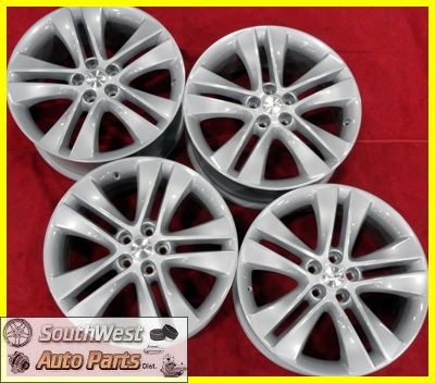Chevy Cruze 18 5x105 Silver Wheel Factory Wheels Rims Set 5477