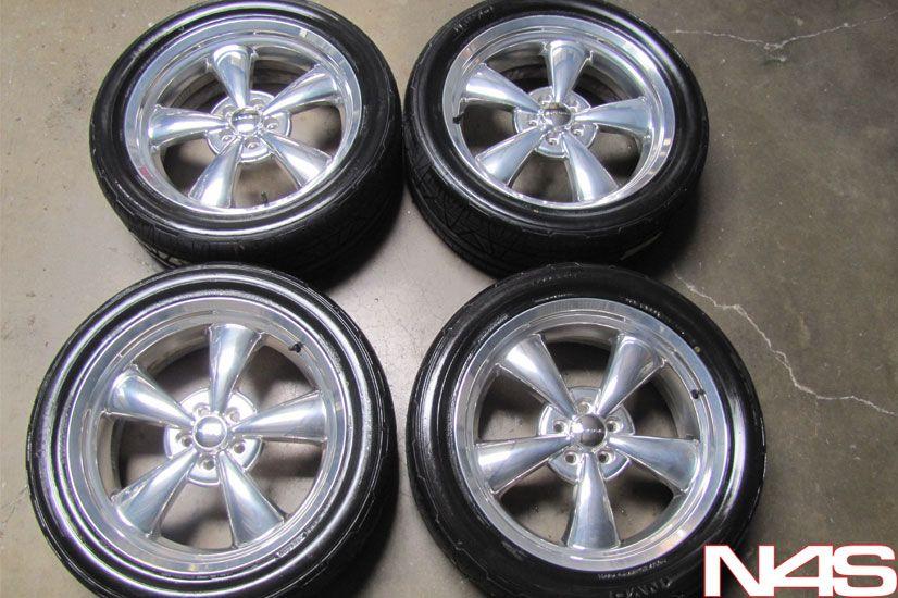 Challenger Heritage Nostalgia Chrome Wheels Rims Nitto Tires