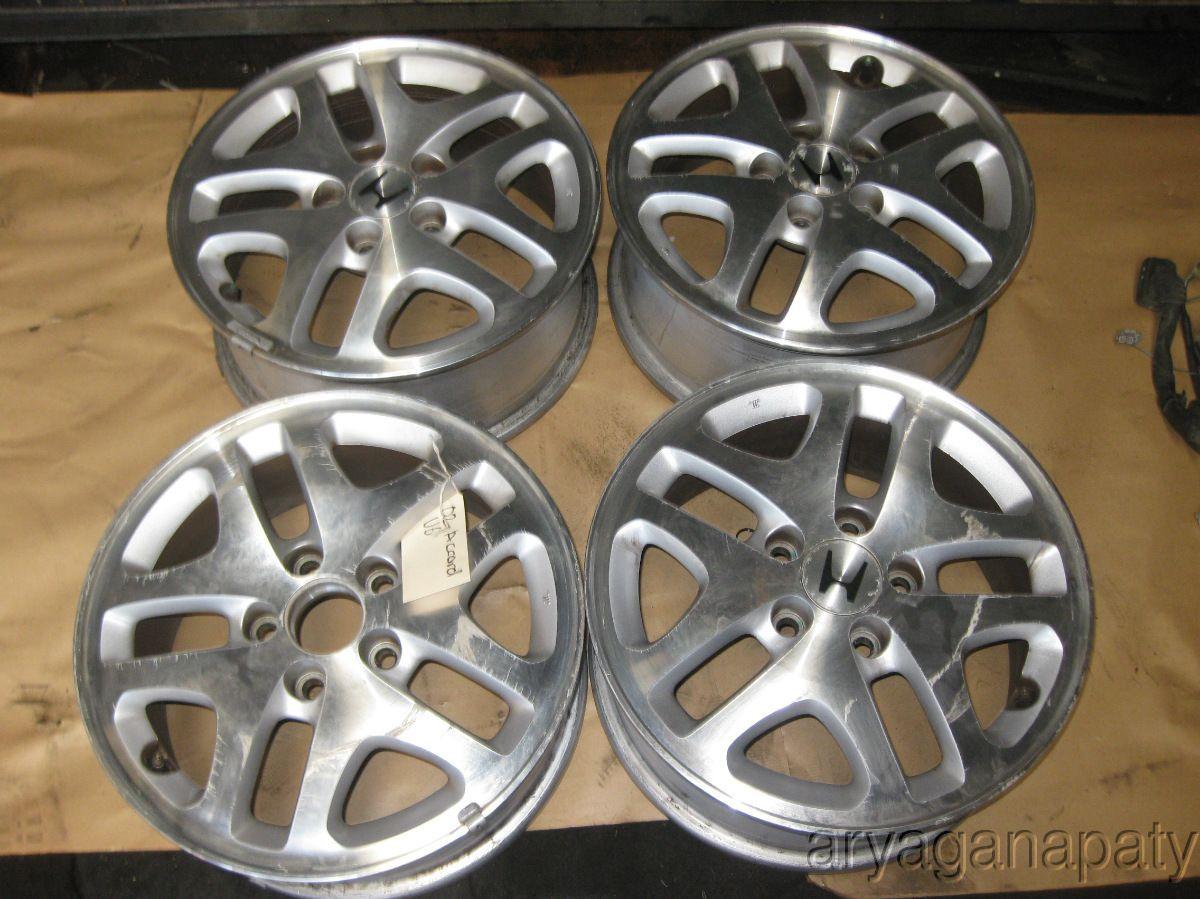 98 99 00 01 02 Honda Accord Wheels Rims Stock Factory x4 5 Lug 16 V6