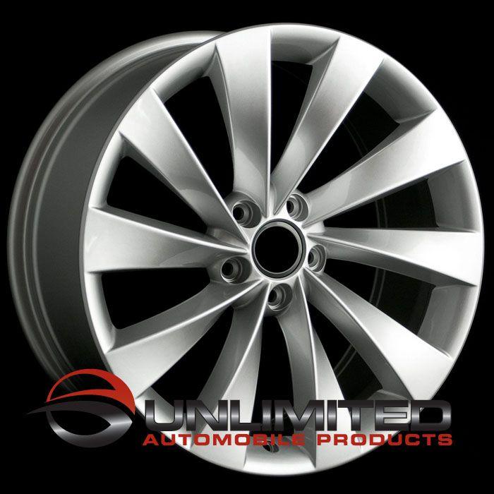 19 VW Turbine Style Silver Wheels Rims Fit Audi A3 A6 C6 TT MKII