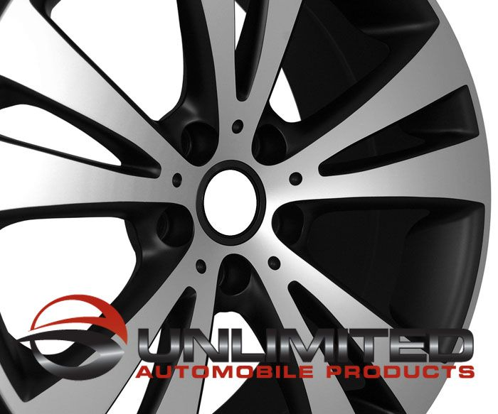 Style Black Machined Face Wheels Rims Fit VW Golf Rabbit GTI