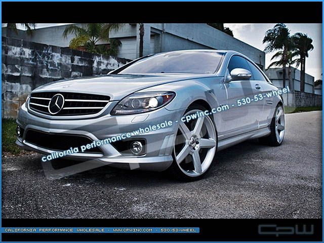 22 inch Wheels Rims Mercedes Benz W221 S550 S600 Concave AMG Style