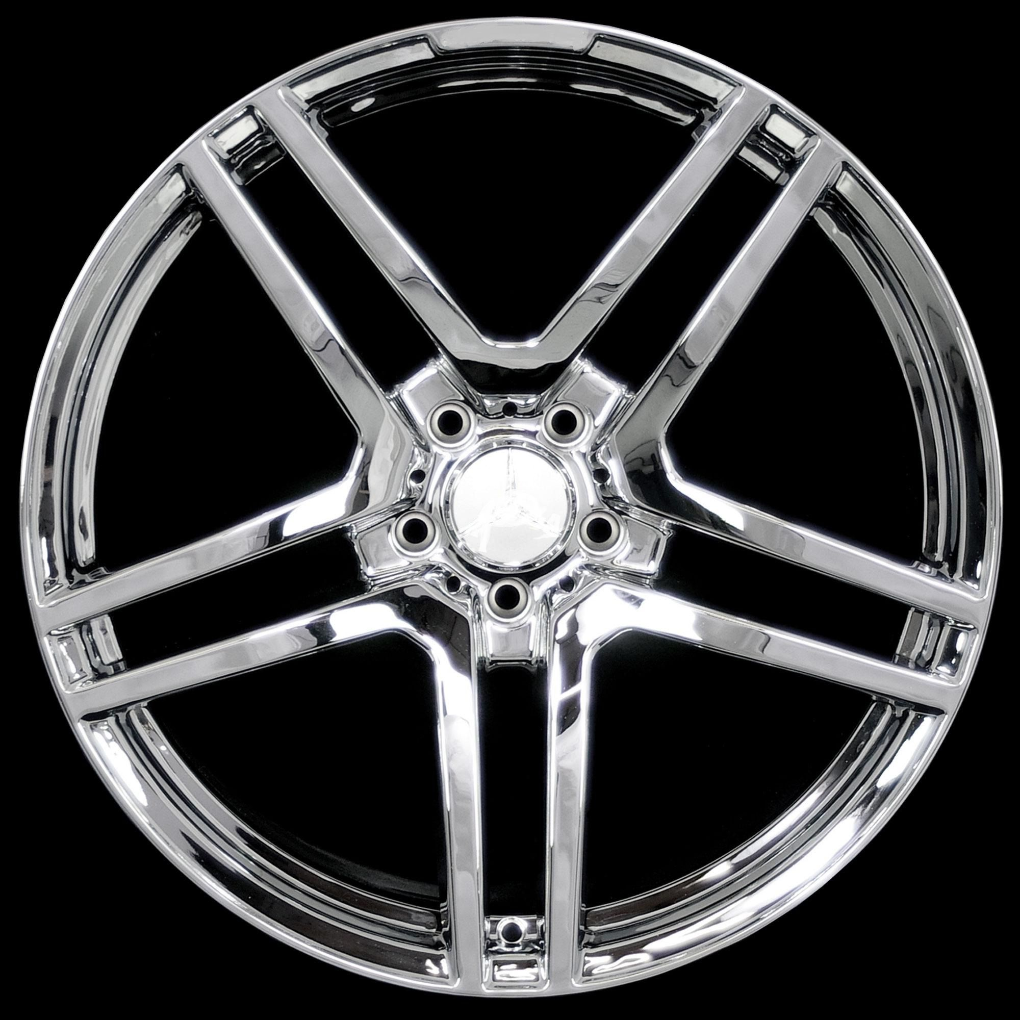 20 AMG Style Chrome Finish Wheels Rims Fit Mercedes E W210 W211 W212