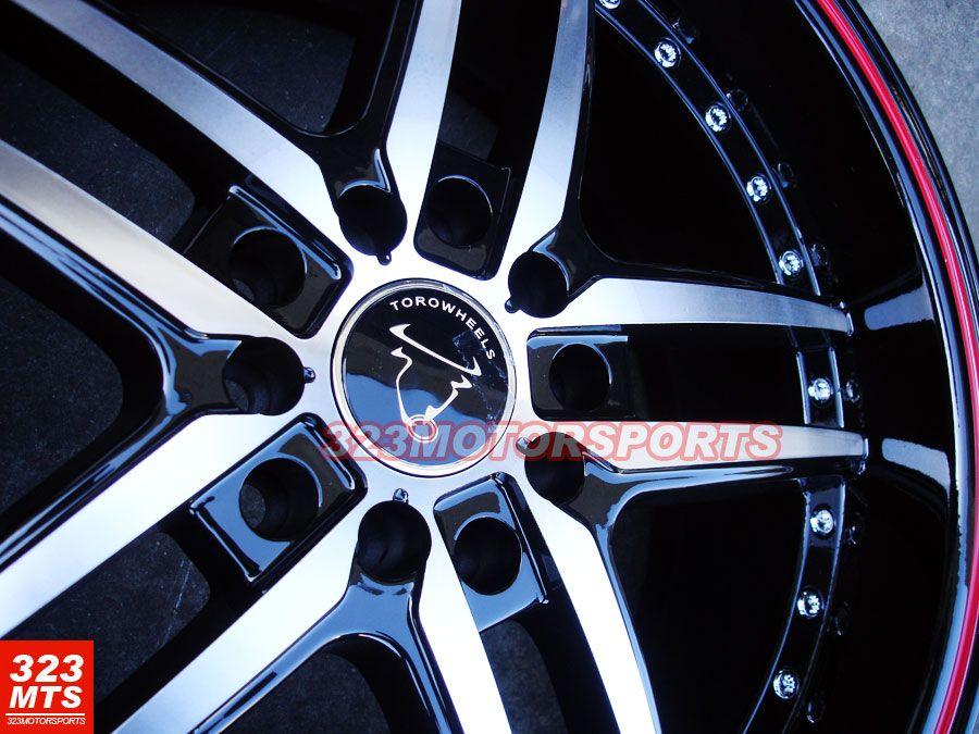 Toro TR9005 Wheels Rims Honda Subaru Ford Nissan Acura Wheels
