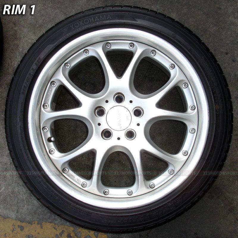 SSR Rims Wheels Tire Mercedes Benz E500 E550 S500 S550 Rims
