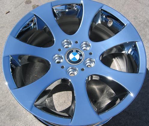 FACTORY BMW 323i 328i 330i 335i OEM CHROME WHEELS RIMS EXCHANGE STOCK