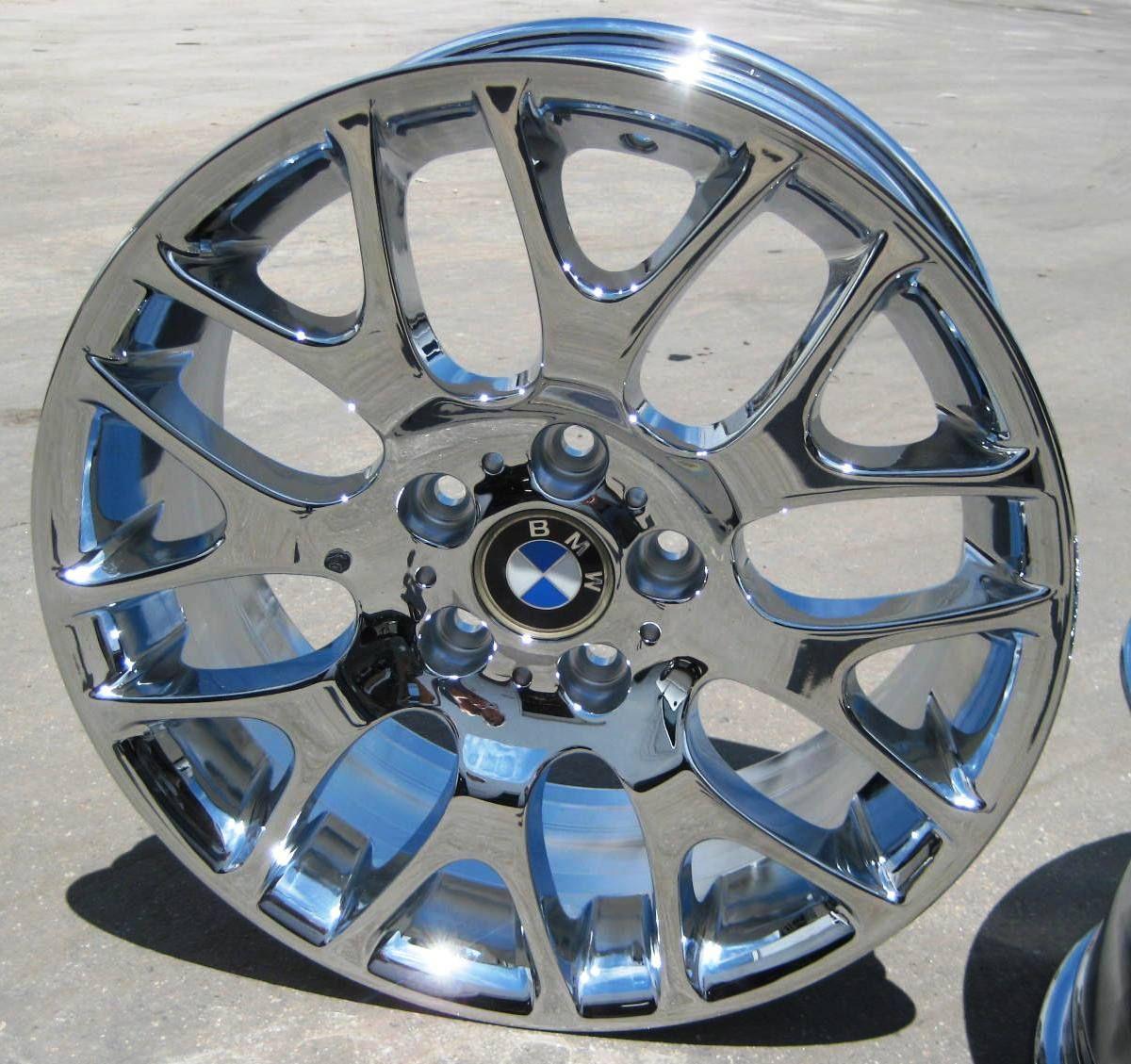 BMW 328i 330i 335i M3 325i E90 Chrome Wheels Rims Set of 4