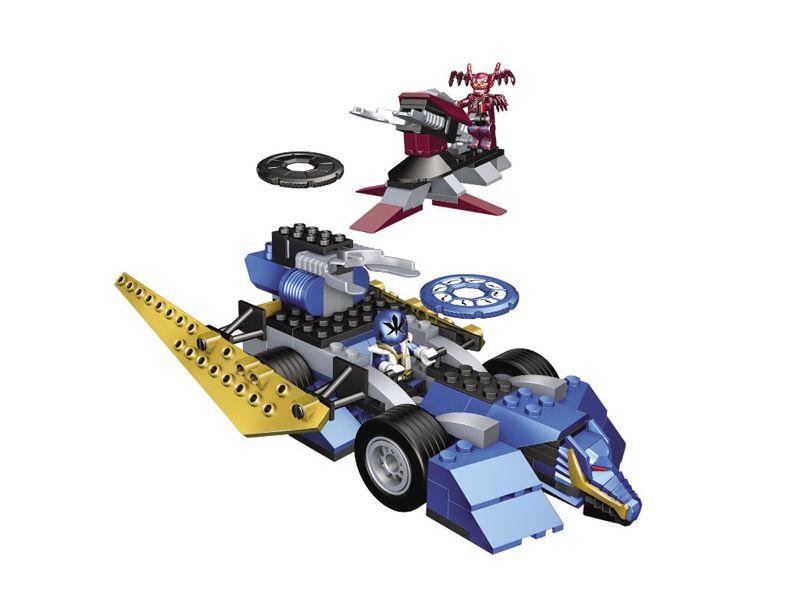 Mega Bloks 05827 Power Rangers Samurai Blue Ranger vs. Xandred