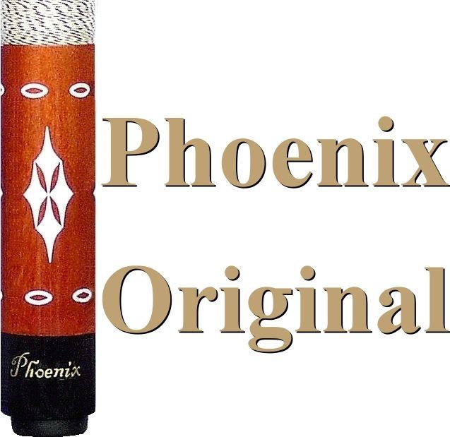 High Quality orig. PHOENIX Billard Queue Pro 3 Brown Handmade NEU