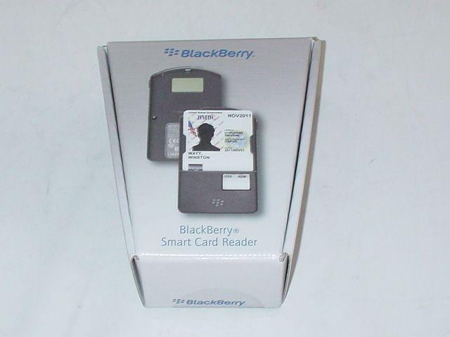 BlackBerry Bluetooth Smart Card Reader tragbarer Chipkartenleser PRD