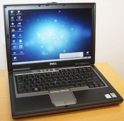 Business Notebook Dell Latitude D620 Core 2 Duo 2x1 6GHz 1GB 60GB DVD