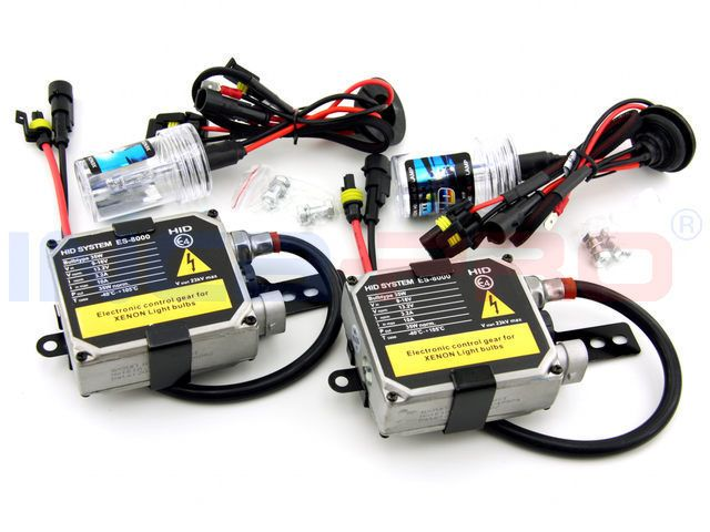 XENON HID Upgrade Kit H7 6000K High Quality ES 8000