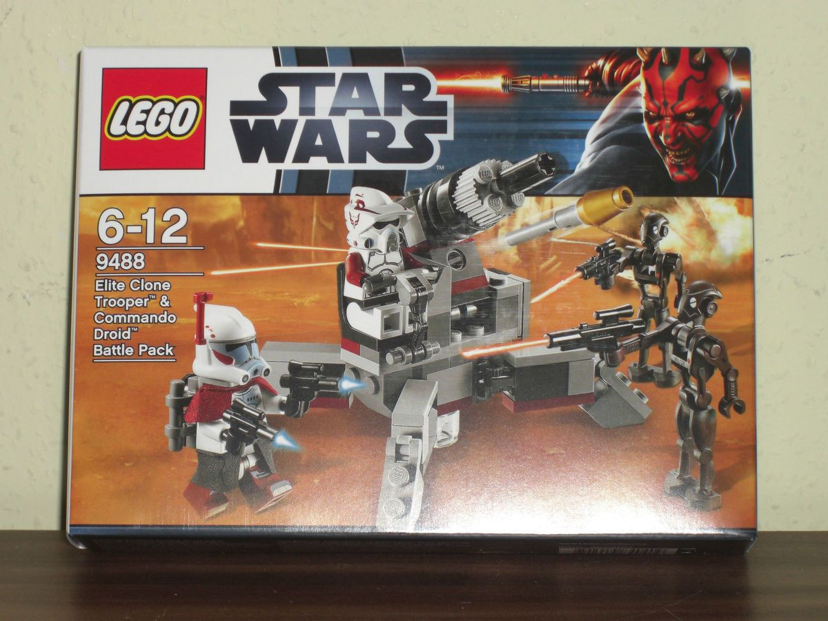 LEGO Star Wars   Set 9488 ARC Trooper & Commando Droid Battle Pack