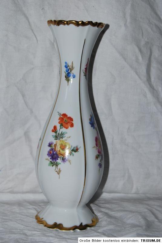 Edelstein Bavaria Vase Handarbeit   20735 826   26 cm