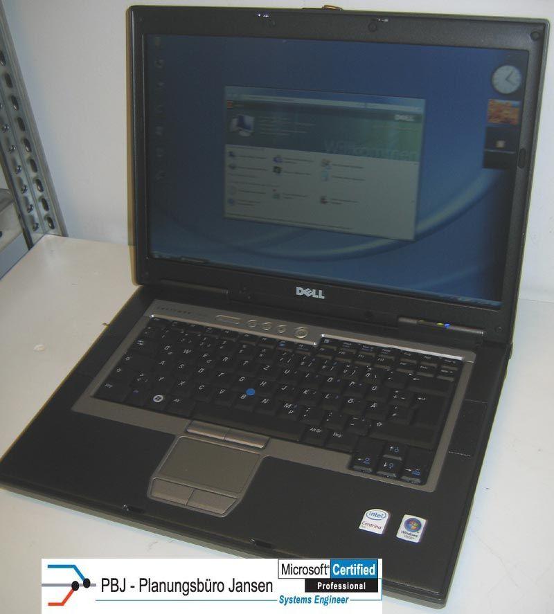 DELL LATITUDE D830 LAPTOP 15,4 CORE2DUO T7500 2x2,2 GHZ Windows 7