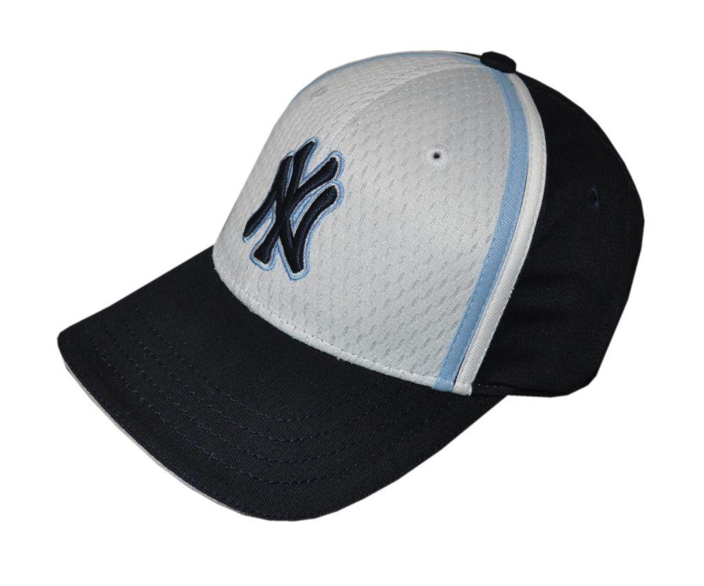 New Era   NY Yankees Youth Black + White Baseball Cap / Hat (AC904
