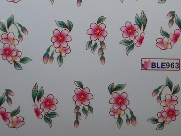Nail Art Sticker Tattoo One Stroke BLE 963
