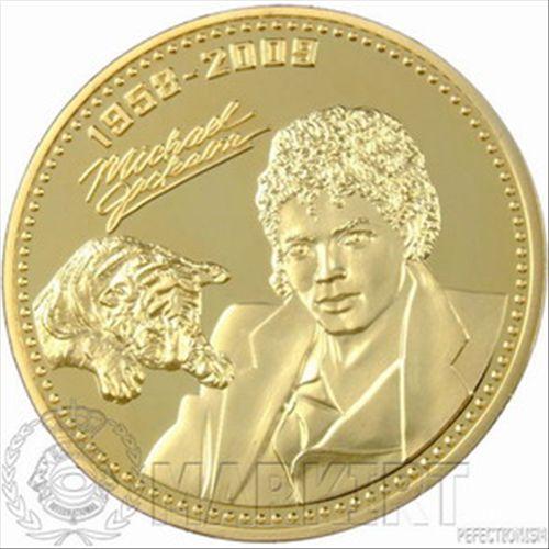 * Michael Jackson Münze Gold PP  limitiert / 999 verg. *RARITÄT