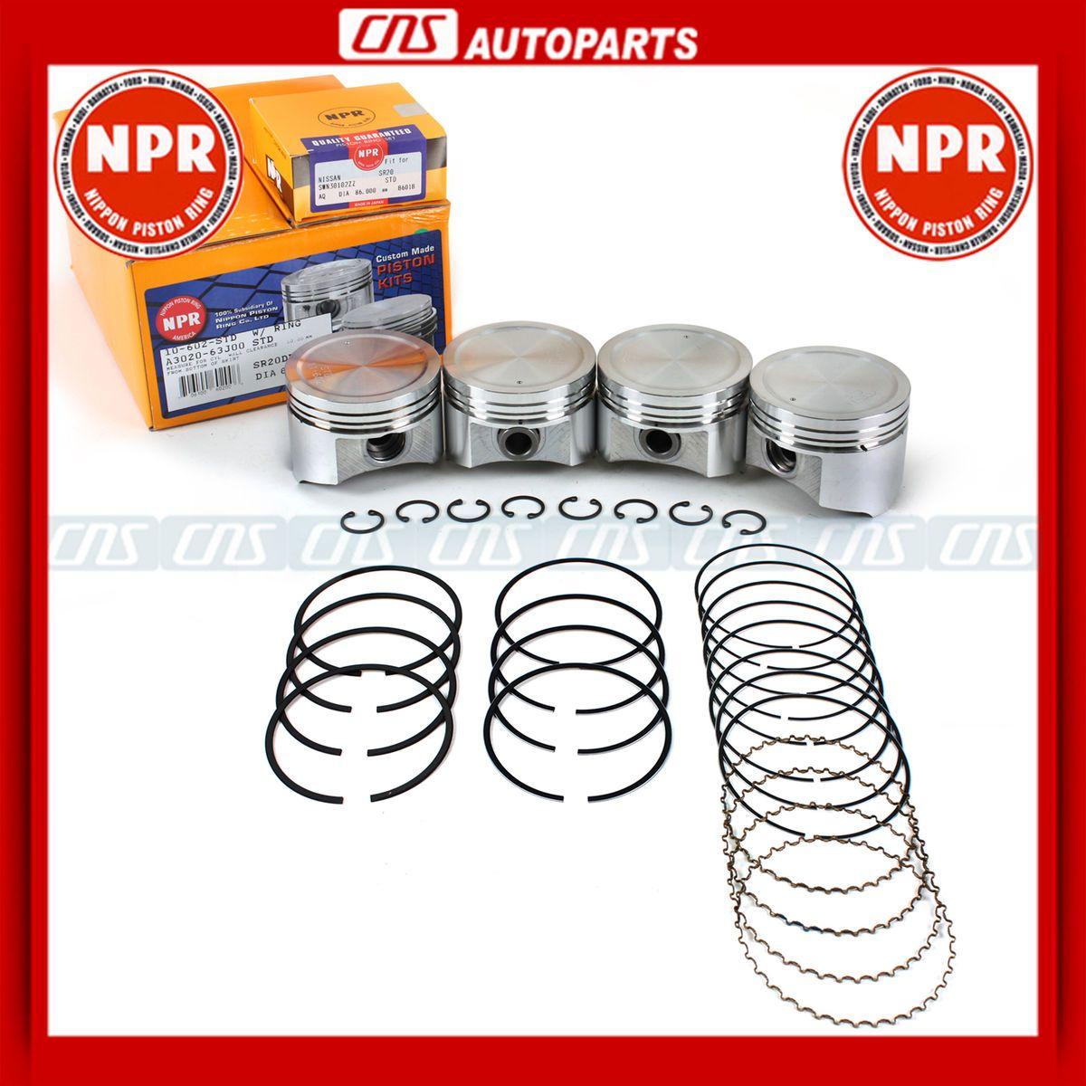 99 Infiniti G20 Engine Car Fuse Box Panel Source Npr Piston Rings Set 91 Nissan Sentra 2 0l Dohc