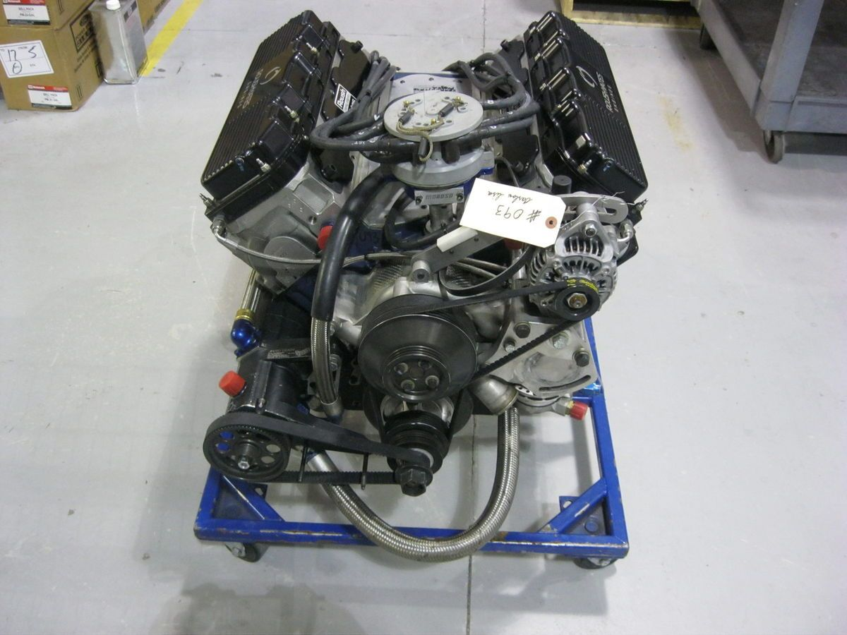 ROUSH YATES FORD 358 ci D3 HEAD COMPLETE FRESH ENGINE 860HP
